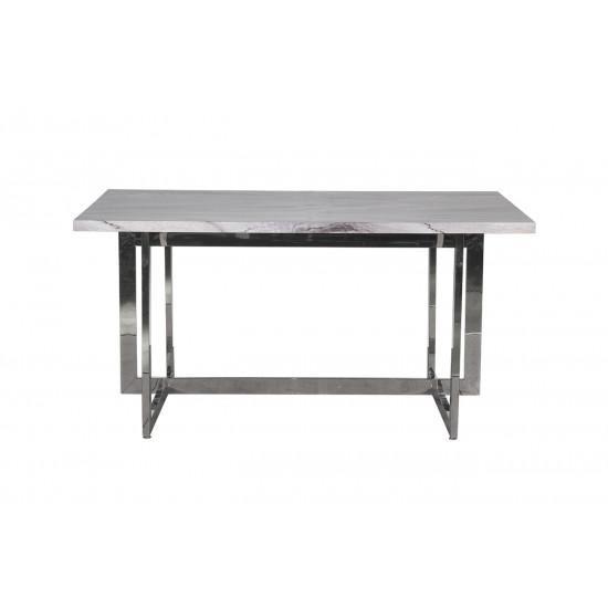 Стол обеденный серый 30F-987G184