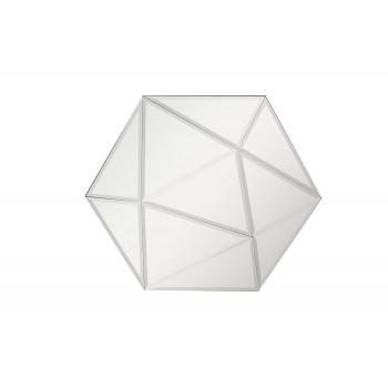 Объемное шестиугольное зеркало 100*86*5,5см KFG078