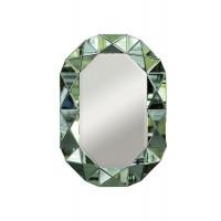 Зеркало в зеленой зеркальной раме 101*71*3см KFG079
