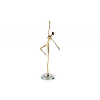 Статуэтка Балерина цвет золото 13*8*29см 55RD3603L