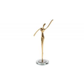 Статуэтка Балерина цвет золото 16*8*25см 55RD3604S