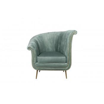 Кресло велюр мятный левое 48MY-2682-L MNT GO