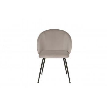 Стул обеденный велюровый серый 30C-1230 BGE