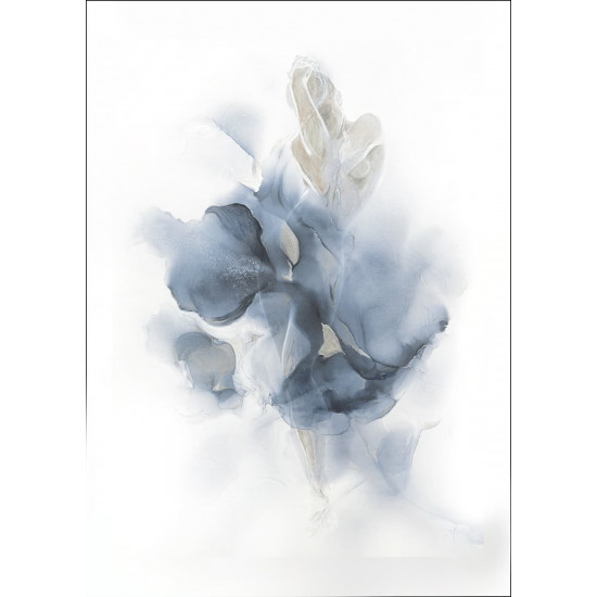 Холст Песня поющего цветка 100*70см 89VOR-AQUARELLE7 в интернет-магазине ROSESTAR фото
