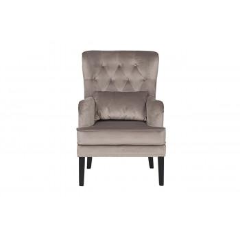 Кресло Rimini велюровое крем-брюле RIMINI-2K-КР-БРЮЛЕ Bel42