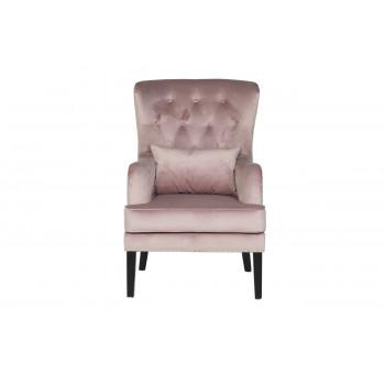 Кресло Rimini велюровое пыльная роза RIMINI-2K-ПЫЛ/РОЗ-Н-Йорк40