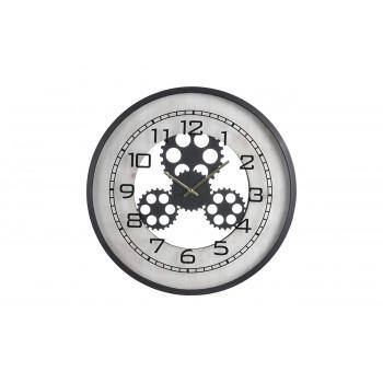 Часы настенные черные HX9900130
