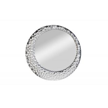 Зеркало круглое в серебряной раме 50SX-1020