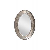 Зеркало Волны в раме темное серебро 50SX-2080