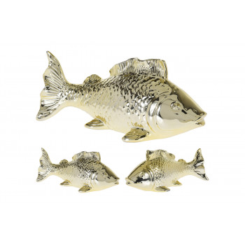 """Статуэтка """"Рыба"""" золотая 095705530"""