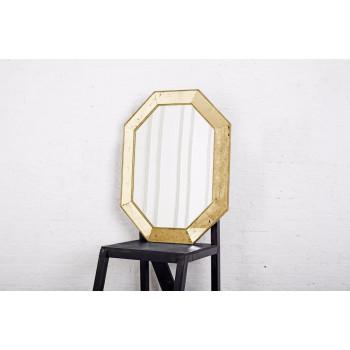 Зеркало восьмиугольное в золотой раме Aristocrat Gold