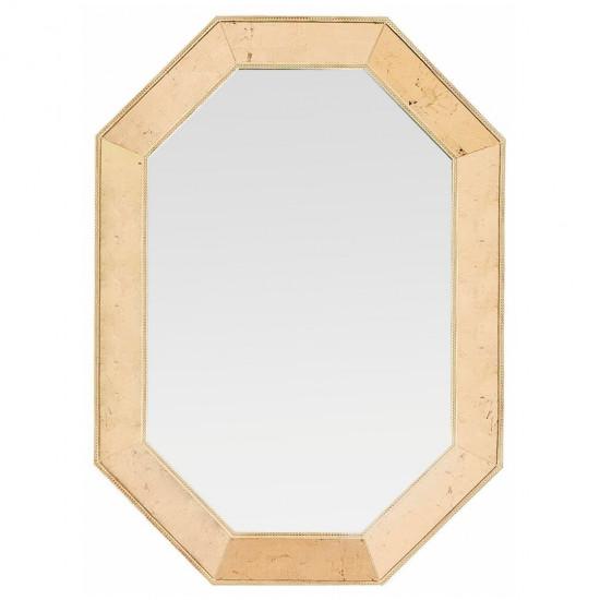 Зеркало восьмиугольное в золотой раме Aristocrat Gold в интернет-магазине ROSESTAR фото