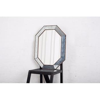 Зеркало восьмиугольное в серебряной раме Aristocrat