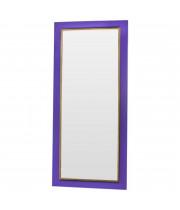 Зеркало большое напольное и настенное в полный рост в раме Tomas Золото, фиолетовый