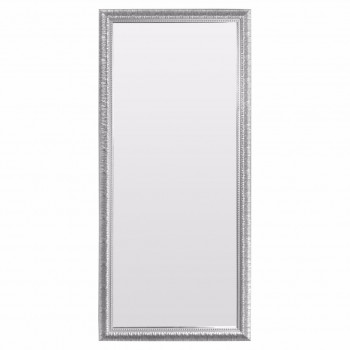 Зеркало большое напольное и настенное в полный рост в серебряной раме Silver dream