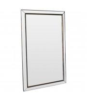 Зеркало большое напольное и настенное в полный рост в зеркальной раме Mirrored loft Состаренное серебро