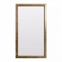 Зеркало большое напольное и настенное в полный рост в серебряной раме Gianluca