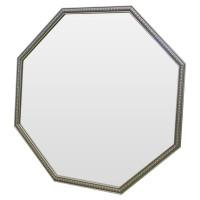 Зеркало восьмиугольное в серебряной раме Spirituel