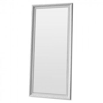 Зеркало большое напольное и настенное в полный рост в белой раме Snow White