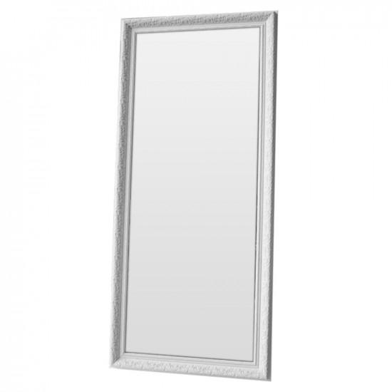 Зеркало большое напольное и настенное в полный рост в белой раме Snow White в интернет-магазине ROSESTAR фото