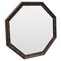 Зеркало восьмиугольное Copper lava Медь