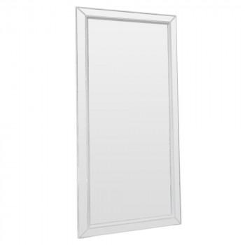 Зеркало большое напольное и настенное в полный рост в белой раме Zazerkaliye