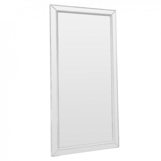 Зеркало большое напольное и настенное в полный рост в белой раме Zazerkaliye в интернет-магазине ROSESTAR фото