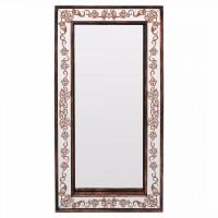 Зеркало большое напольное/настенное в полный рост в бронзовой зеркальной раме Bronze Exultancy