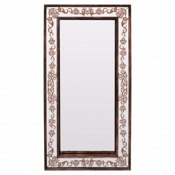 Зеркало большое напольное и настенное в полный рост в бронзовой зеркальной раме Bronze Exultancy