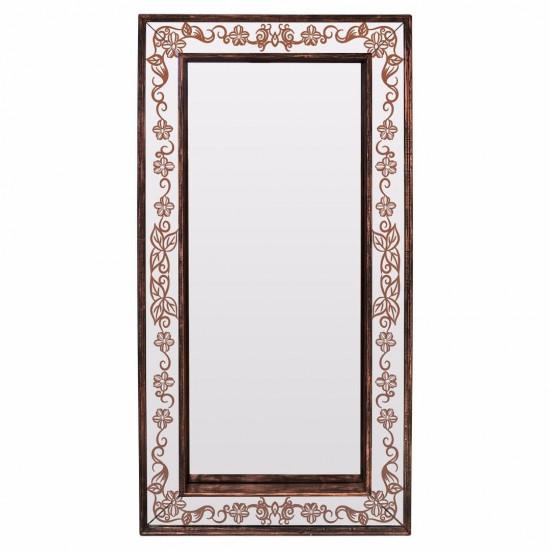 Зеркало большое напольное/настенное в полный рост в бронзовой раме Bronze Exultancy в интернет-магазине ROSESTAR фото