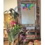 Зеркало большое напольное и настенное в полный рост в бронзовой раме Exultancy в интернет-магазине ROSESTAR фото