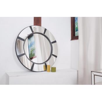 Круглое зеркало в зеркальной раме Michel