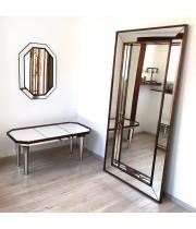 Зеркало большое напольное и настенное в полный рост Dijon Состаренное золото