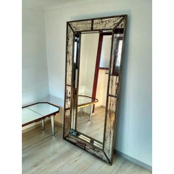 Зеркало большое напольное и настенное в полный рост Saint-Denis Состаренное серебро