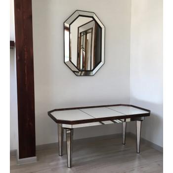Зеркало восьмиугольное в зеркальной раме Saint Chapelle