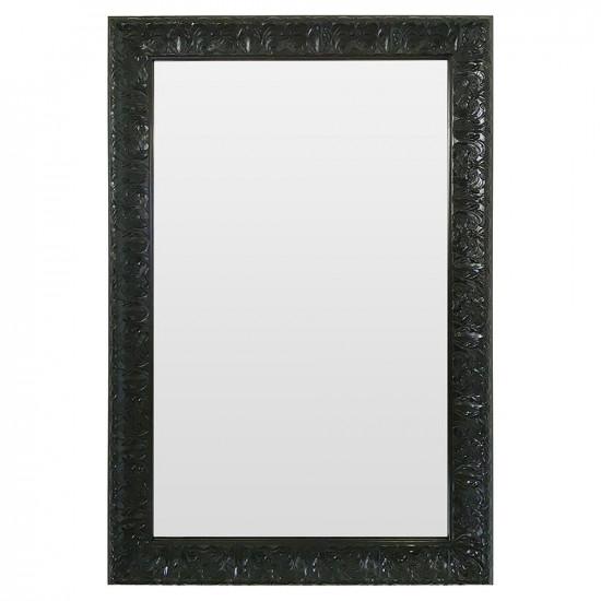 Зеркало в чёрной раме Earth в интернет-магазине ROSESTAR фото