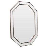 Зеркало восьмиугольное в раме Ludovic base Состаренное серебро