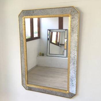 Зеркало в раме Royal happiness Gold Золото, серебро
