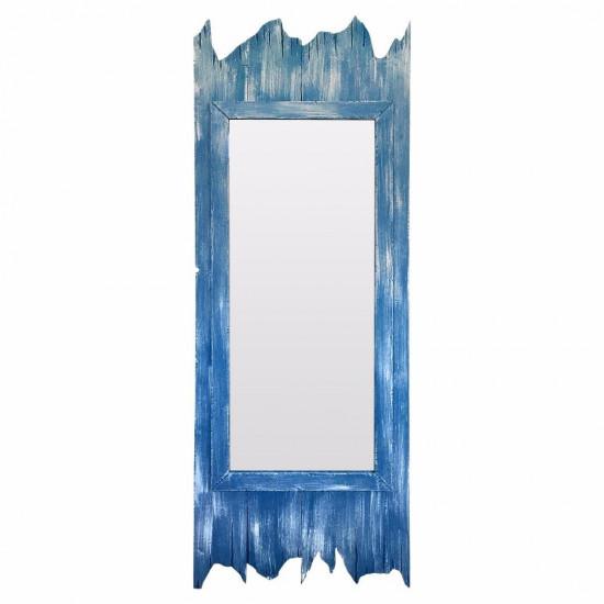 Зеркало большое напольное и настенное в голубой раме Gianni в интернет-магазине ROSESTAR фото