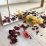 Зеркало большое напольное и настенное в полный рост в зеркальной раме Valentino Золото в интернет-магазине ROSESTAR фото 4