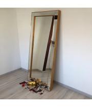 Зеркало большое напольное и настенное в полный рост в зеркальной раме Valentino Золото