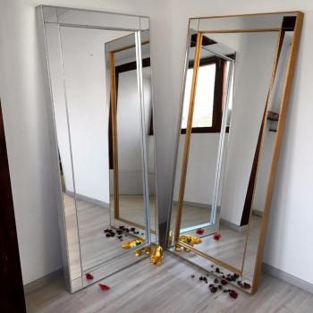 Зеркало напольное и настенное большое в полный рост в зеркальной раме Jacomo