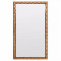 Зеркало большое напольное и настенное в полный рост золотой раме Letizia