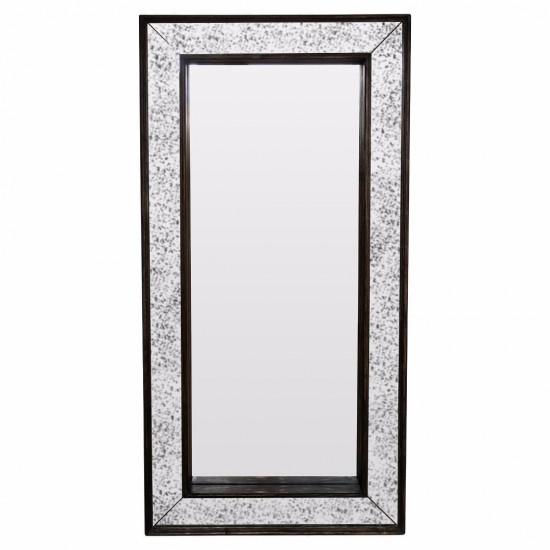 Зеркало большое напольное и настенное в полный рост в зеркальной раме Mystic Состаренное серебро в интернет-магазине ROSESTAR фото