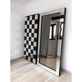 Зеркало большое напольное и настенное в полный рост в зеркальной раме Mosaic