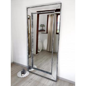 Зеркало большое напольное и настенное в полный рост в зеркальной раме Martino