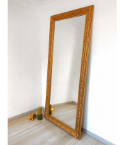 Зеркало большое напольное и настенное в полный рост Gold
