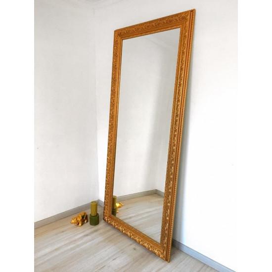 Зеркало большое напольное и настенное в полный рост Gold в интернет-магазине ROSESTAR фото