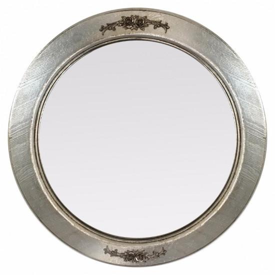 Круглое зеркало в серебряной раме Nicole в интернет-магазине ROSESTAR фото