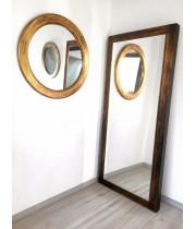 Зеркало большое напольное и настенное в полный рост Pascal Состаренное золото